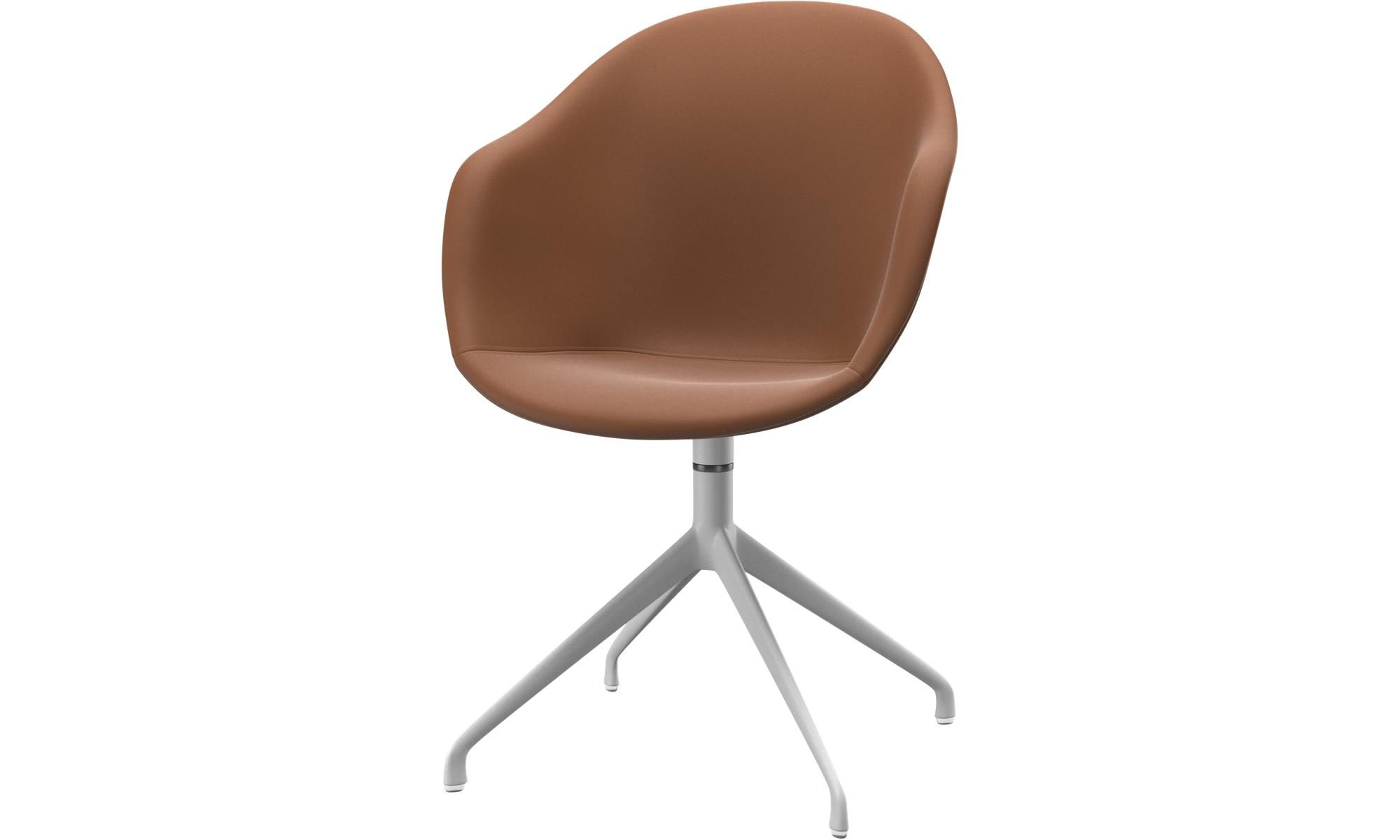 Dining Chairs Adelaide Chair With Swivel Function Brown