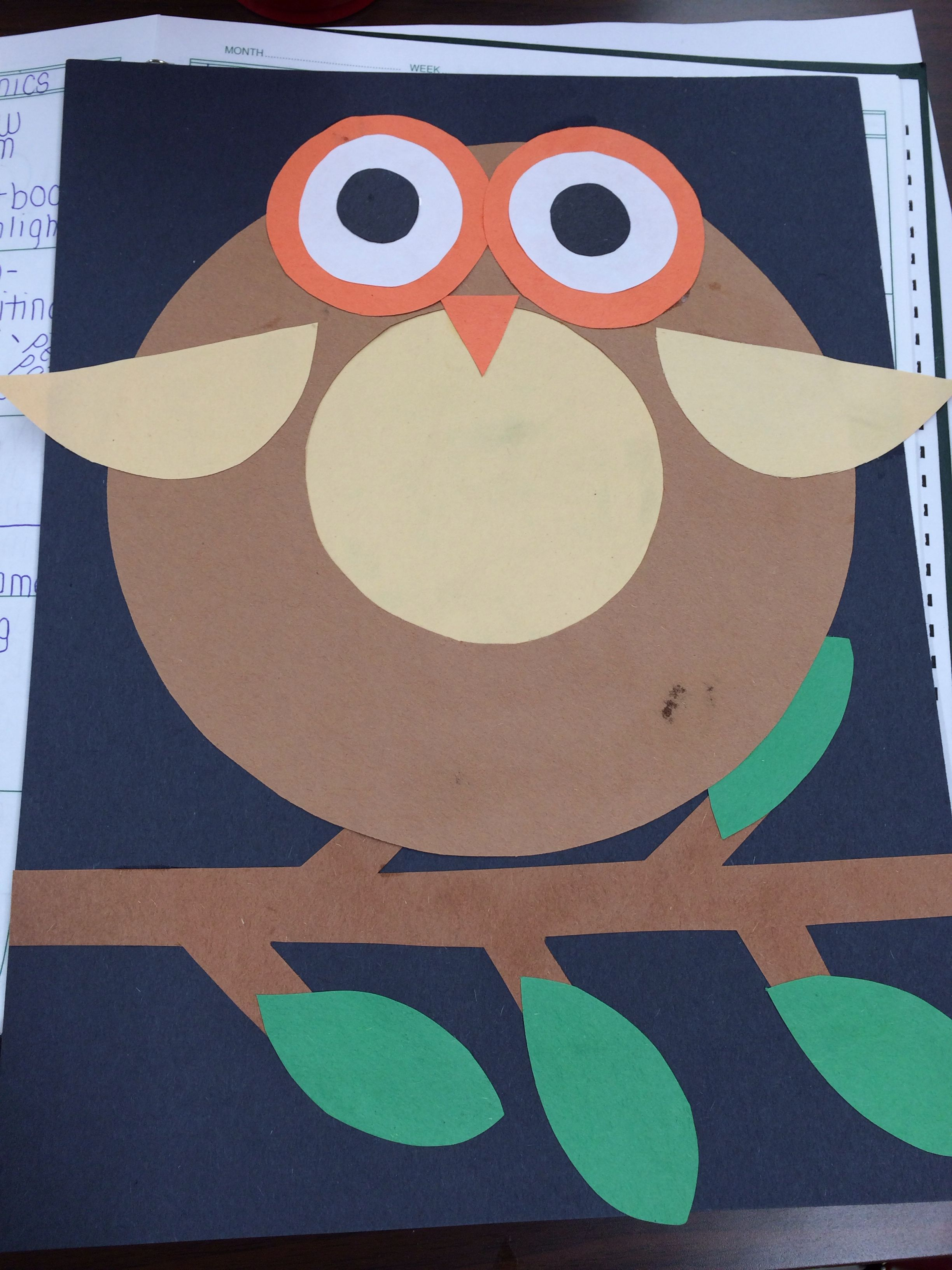 O Is For Owl If You Could Find An Owl That Was Shaped Kinda Like An O It Would Be Adorable