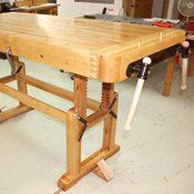 An Adjustable Height Workbench Popular Woodworking Adjustable