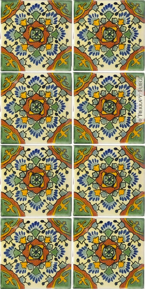 mexican tile art tiles Pinterest Beautiful, Bar and