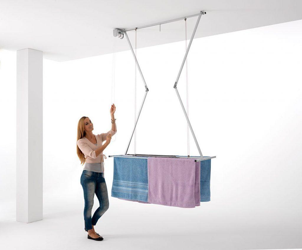 Tendedero de techo foxy tendedero pinterest for Colgadores de ropa