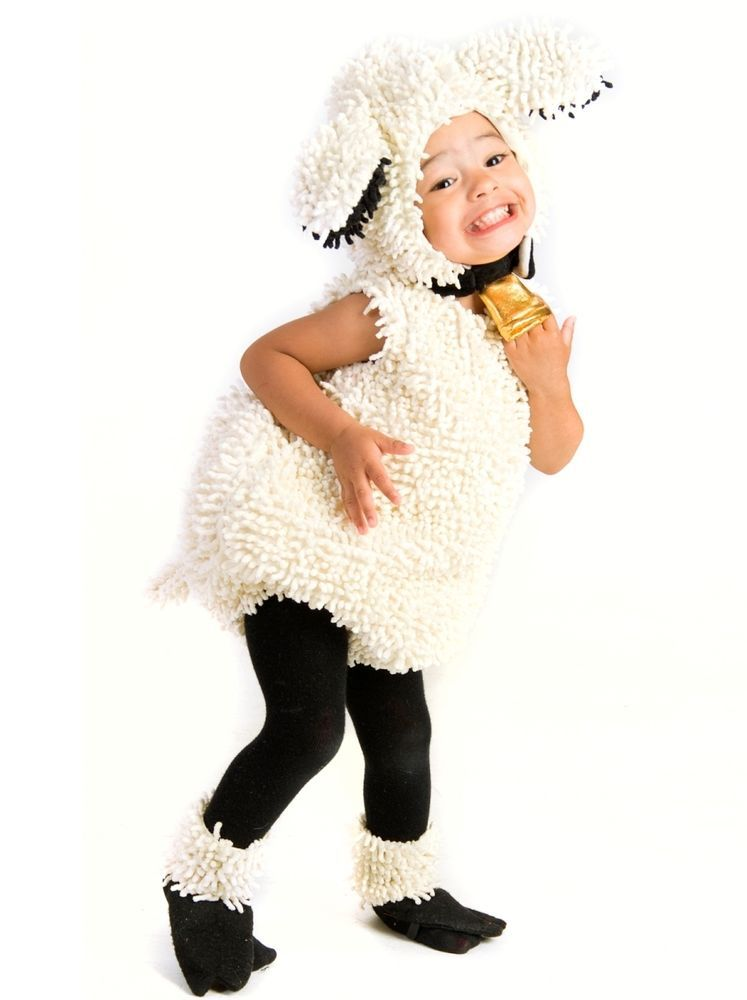lovely lamb sheep plush costume baby infant toddler 6 9 12 18 24 month 2t 3t