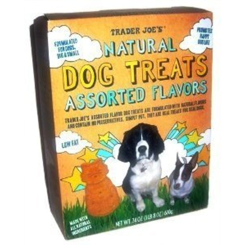 Trader Joe's Natural Dog Treats, Assorted Flavors (24 Oz