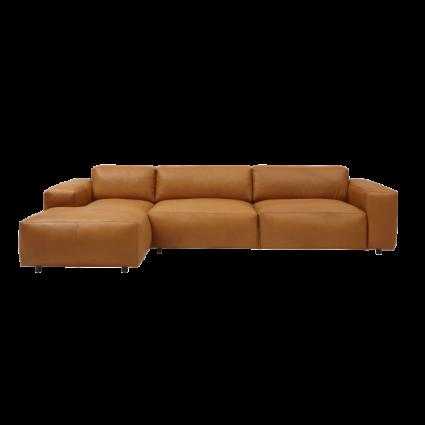 Designer Polsterbetten Ditre Italia   Lucera Sofa With Chaise Lounge Sofa Id Design Interieurs