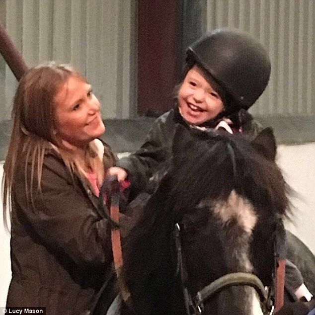 Nothing holds back Daisy, her mum explained how she takes part in numerous school activiti...