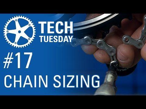 Chain Length Sizing Bmx Bike Frames Park Tool Bike Chain