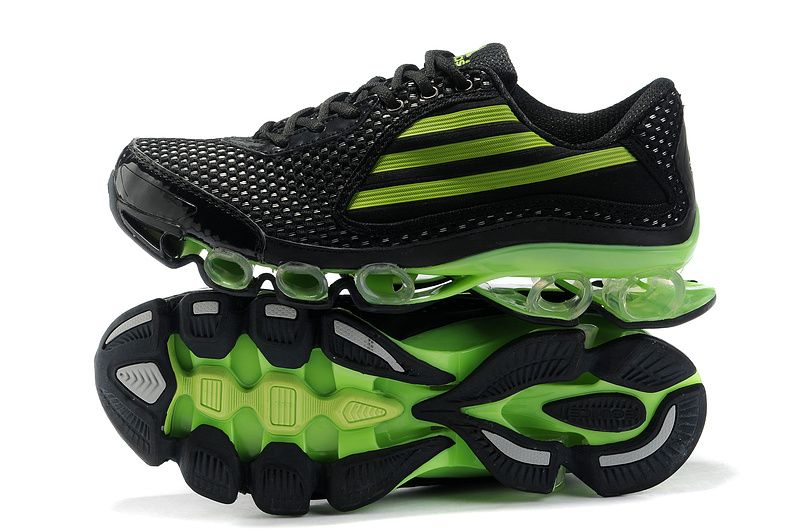 Adidas Titan Bounce Running Shoes Black Green