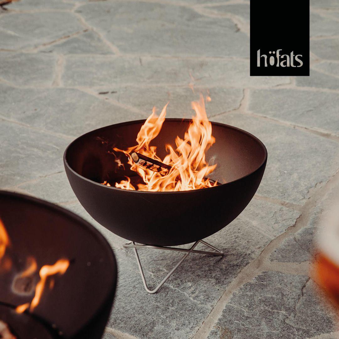 höfats BOWL Feuerschale, Grill