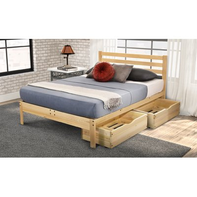 Millwood Pines Georgia Storage Platform Bed Size Twin Xl In 2020