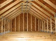 Image Result For 8 12 Pitch Roof Images Attic Flooring Attic Truss Barn Loft