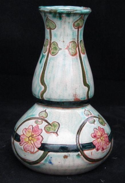 Della Robbia Arts And Crafts Vase Earthenware Pinterest Glass