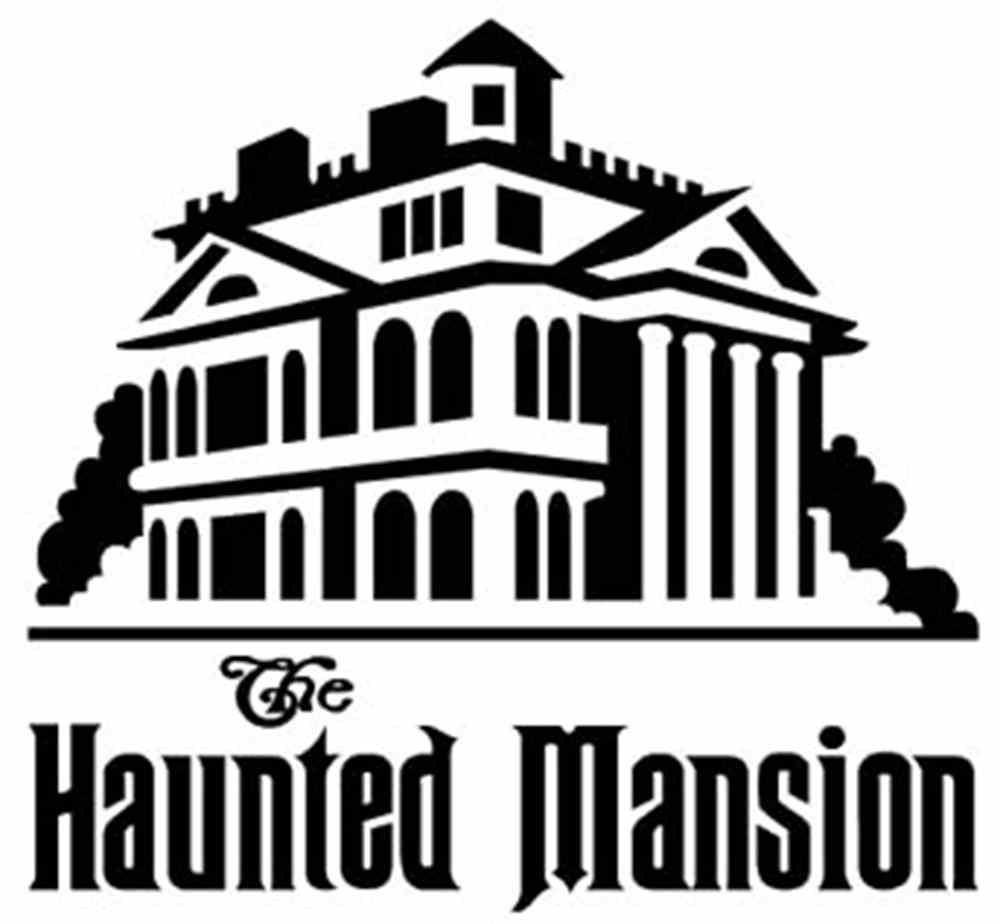 Haunted Mansion Wallpaper Stencil The haunted mansion | Cricut ...