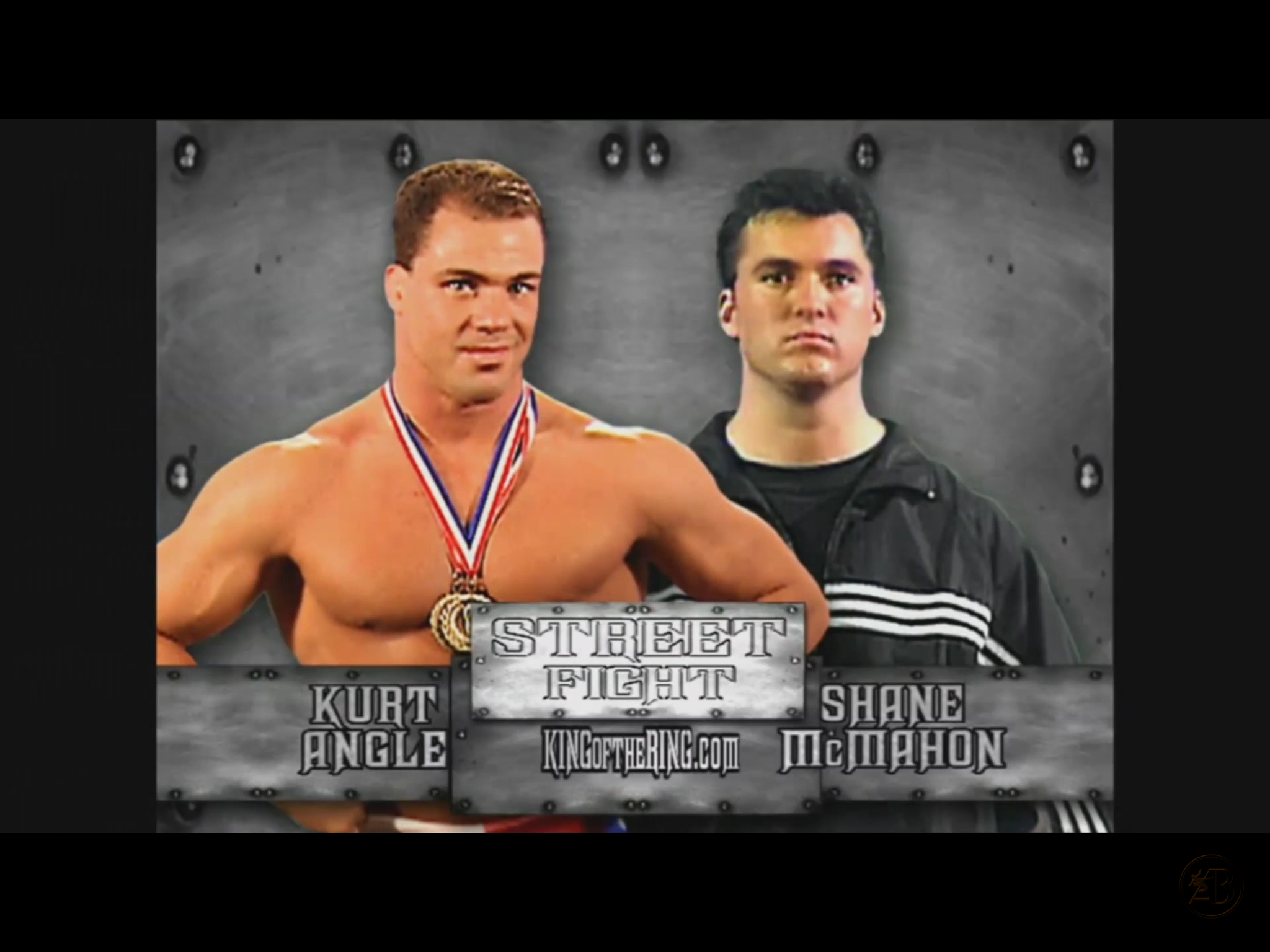 Wwf King Of The Ring 2001 Street Fight Kurt Angle Vs Shane