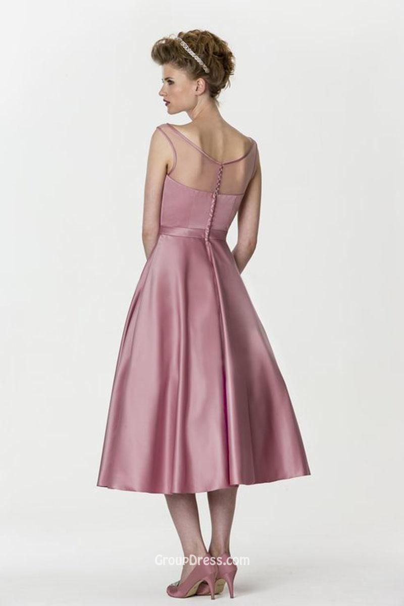 Simple party dress with sleeves naf dresses cocktail dresses