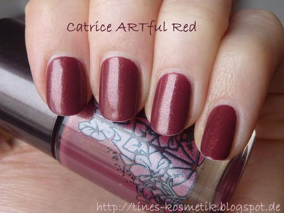 Catrice ARTful Red || http://tines-kosmetik.blogspot.de/2015/02/wo-ist-denn-blo-die-zeit-geblieben.html