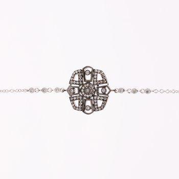 Meira T diamond bracelet diamonds
