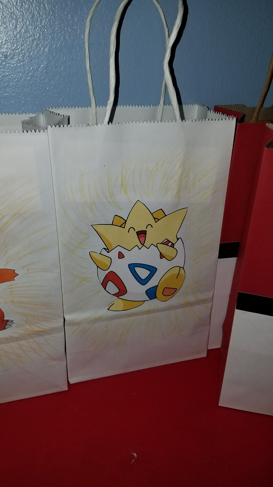 Pokemon Goody Bags Togepi Go Party Ideas