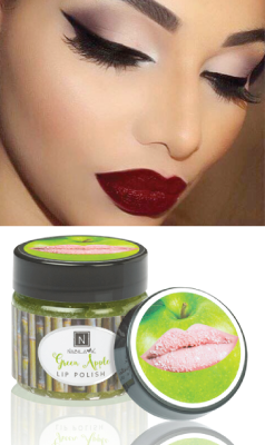 Tempting Green Apple Lip Polish exclusively by Nabila K.