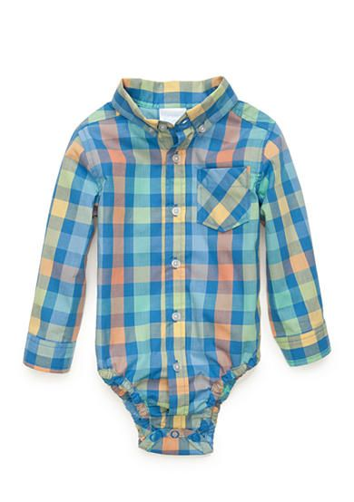 Nursery Rhyme® Plaid Bodysuit