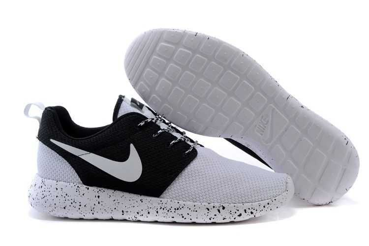 womens chaussures air nike - Sunshine Nike Roshe Run 2015 Mesh White Black Couple | Roshe One ...