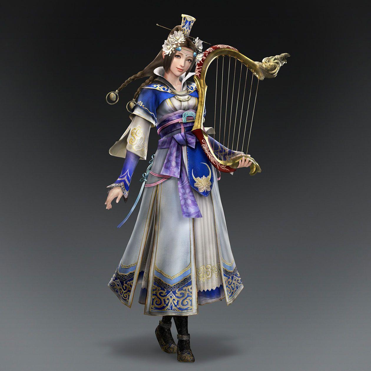 Warriors Orochi 4 Soul Calibur: Cai Wenji & Weapon (Wei Forces)