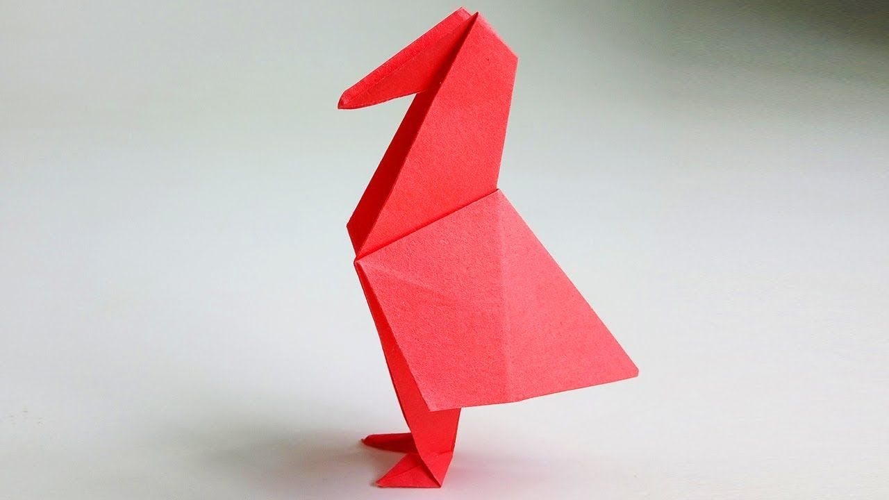 Pin by amanda alex on origami things pinterest origami birds how to make origami bird pigeon paper folding tutorial easy craft origami for kids easy paper bird jeuxipadfo Choice Image