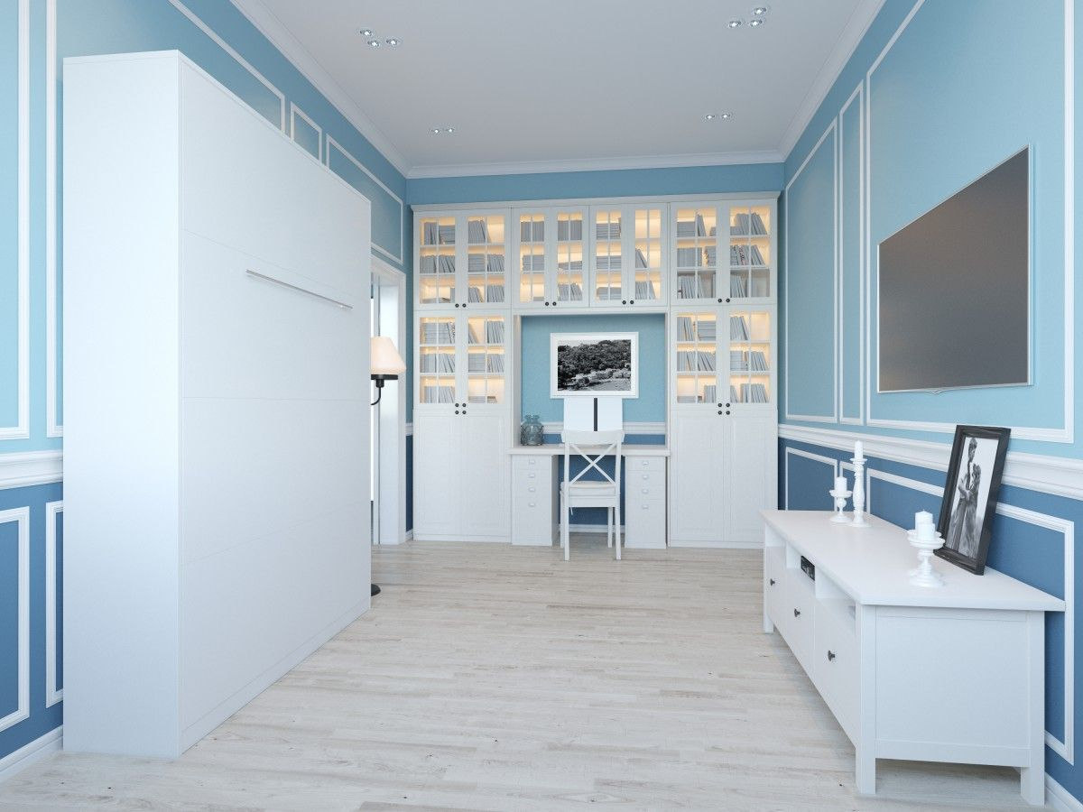 schrankbett 140cm vertikal weiss smartbett living r ume pinterest schrankbetten vertikal. Black Bedroom Furniture Sets. Home Design Ideas