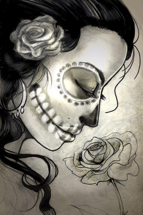 sugar skull drawings cool colorful skull drawing sugar