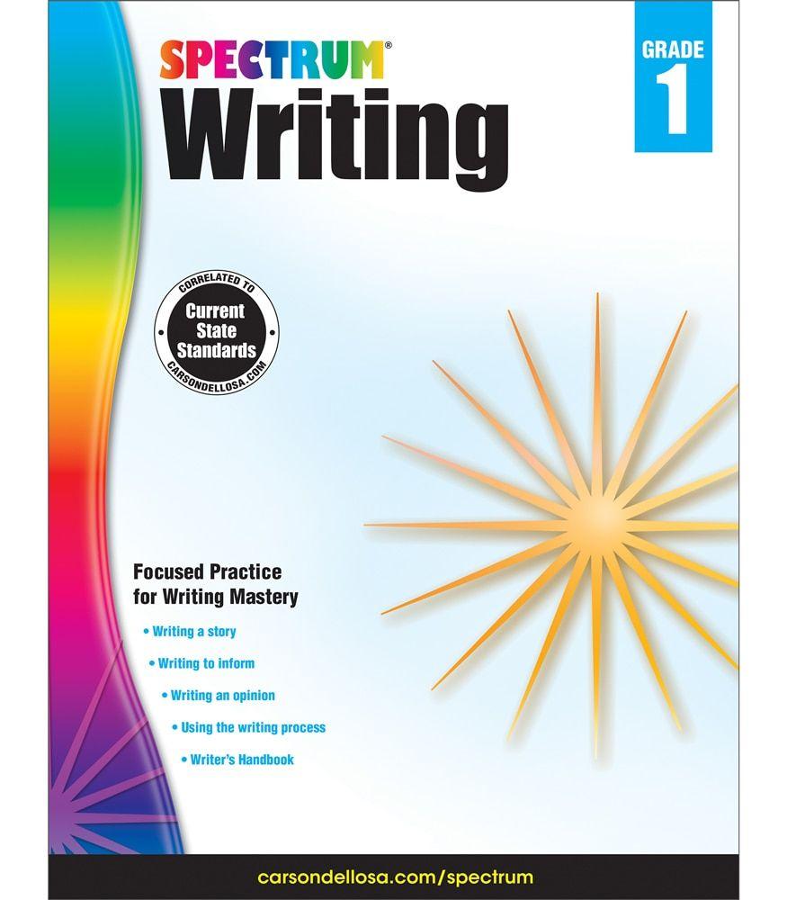 Spectrum Writing Workbook Grade 1 Ebook Math Workbook Writing Skills Word Problems [ 1000 x 875 Pixel ]