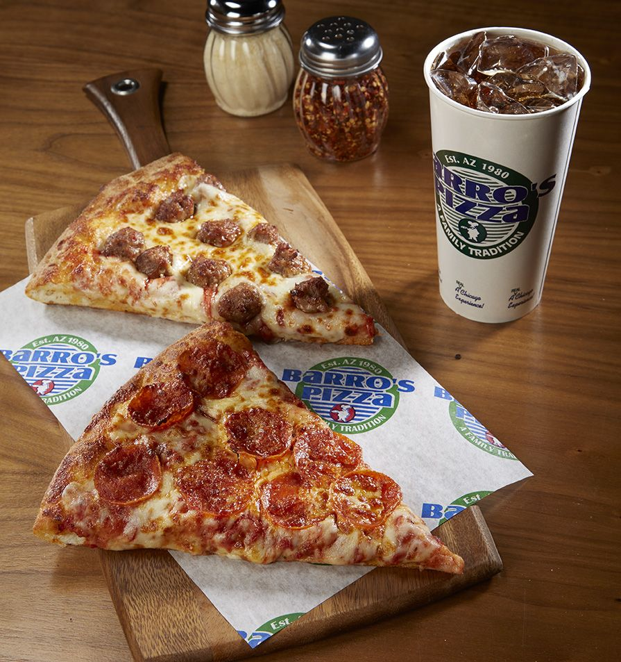 Barro S Pizza Sells Slices For A Cause Pizza Pizza Slice Food