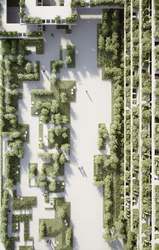 Galeria de Penda cria projeto paisagístico inspirado em antigas escadarias indianas - 20