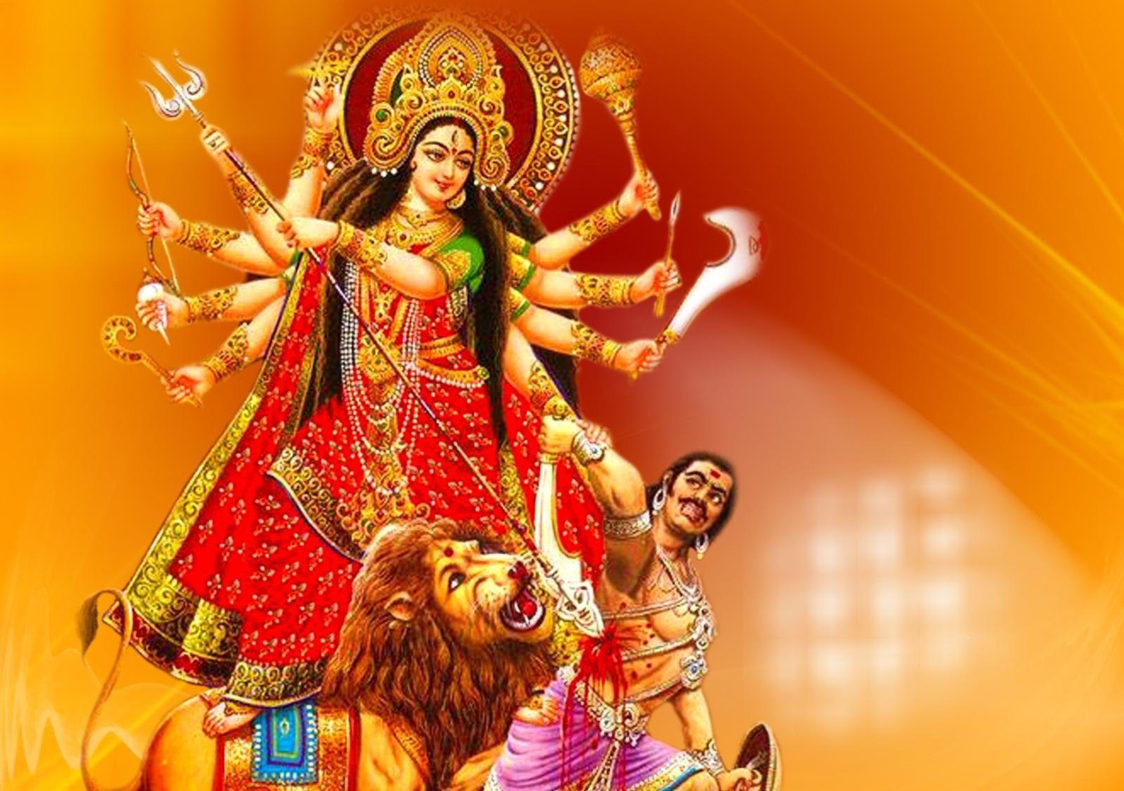 Jai Mata Di Maa Durga Beautiful Hd Wallpapers Collection S