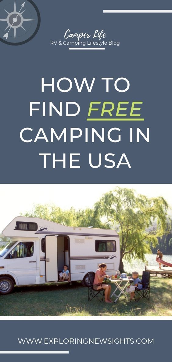 Photo of How to Find Free Camping in the USA – Exploring New Sights