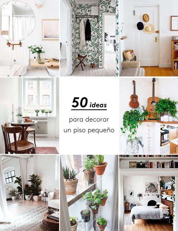 MEGAPOST 50 ideas para decorar un piso pequeo Espacios pequeos