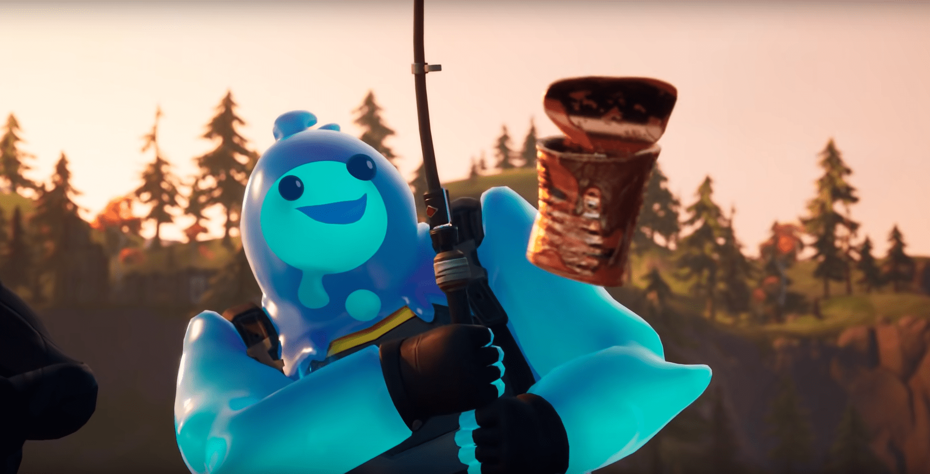 Fortnite Chapter 2 Season 1 How To Find The Mythic Goldfish In Game The Mythic Goldfish Has Finally Been Seen And Used By Players Fortnite Mythical Goldfish