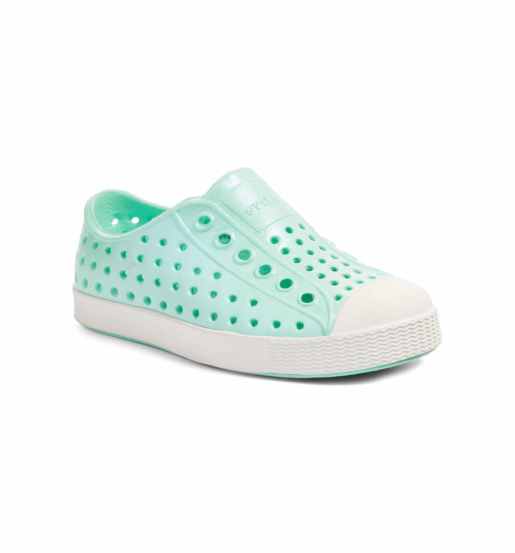 Jefferson Iridescent Slip Sneaker