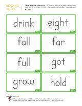 Kindergarten worksheets - Dolch sight words flashcards - 3rd