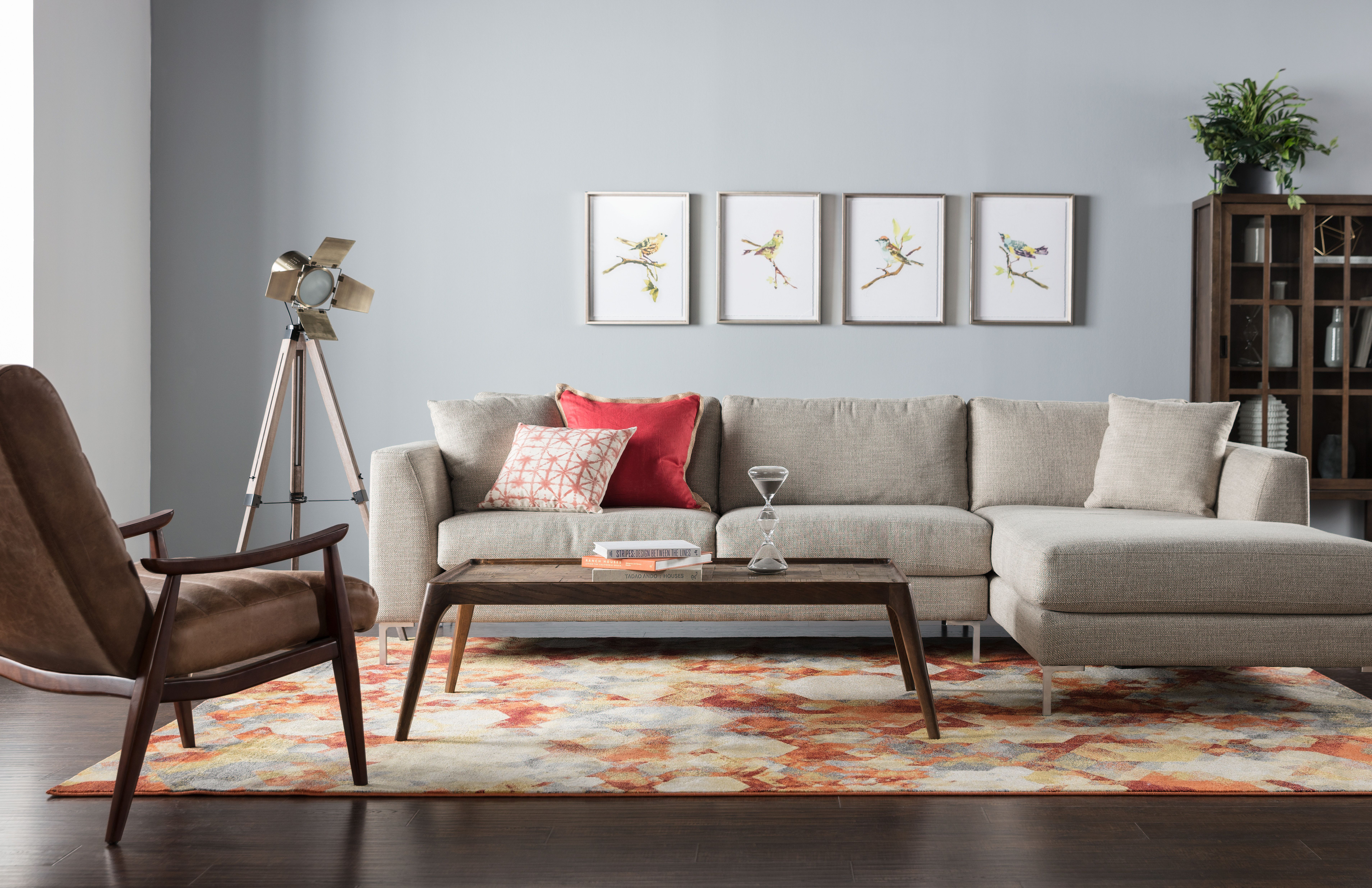 Keeping Things Sleek And Simple Is The Key To Our Stella Chaise Sectional S Appeal Distinctive Wedge Arms Are Practically Made For Sectional Furniture Chaise