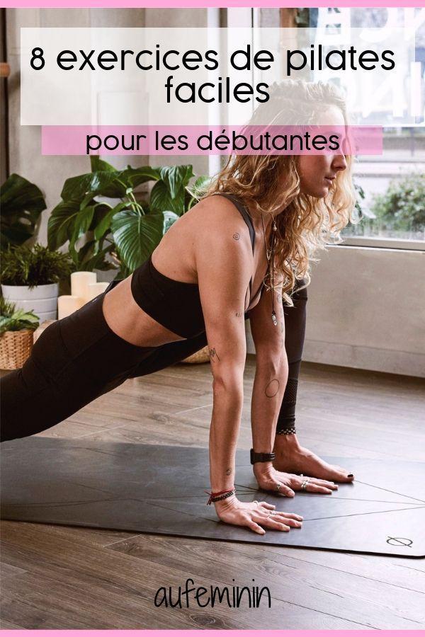 Pilates pour les débutants - Exercices de pilates gratuits #cardiopilates Vous avez envie de vous me...