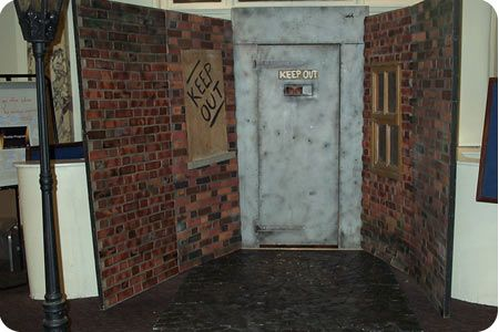1920s and 30s Themed Events- False speakeasy door with ...