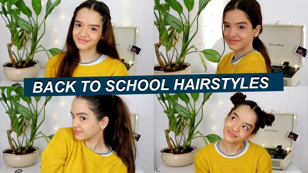 Pin by laura la salvia on cute hair styles pinterest school