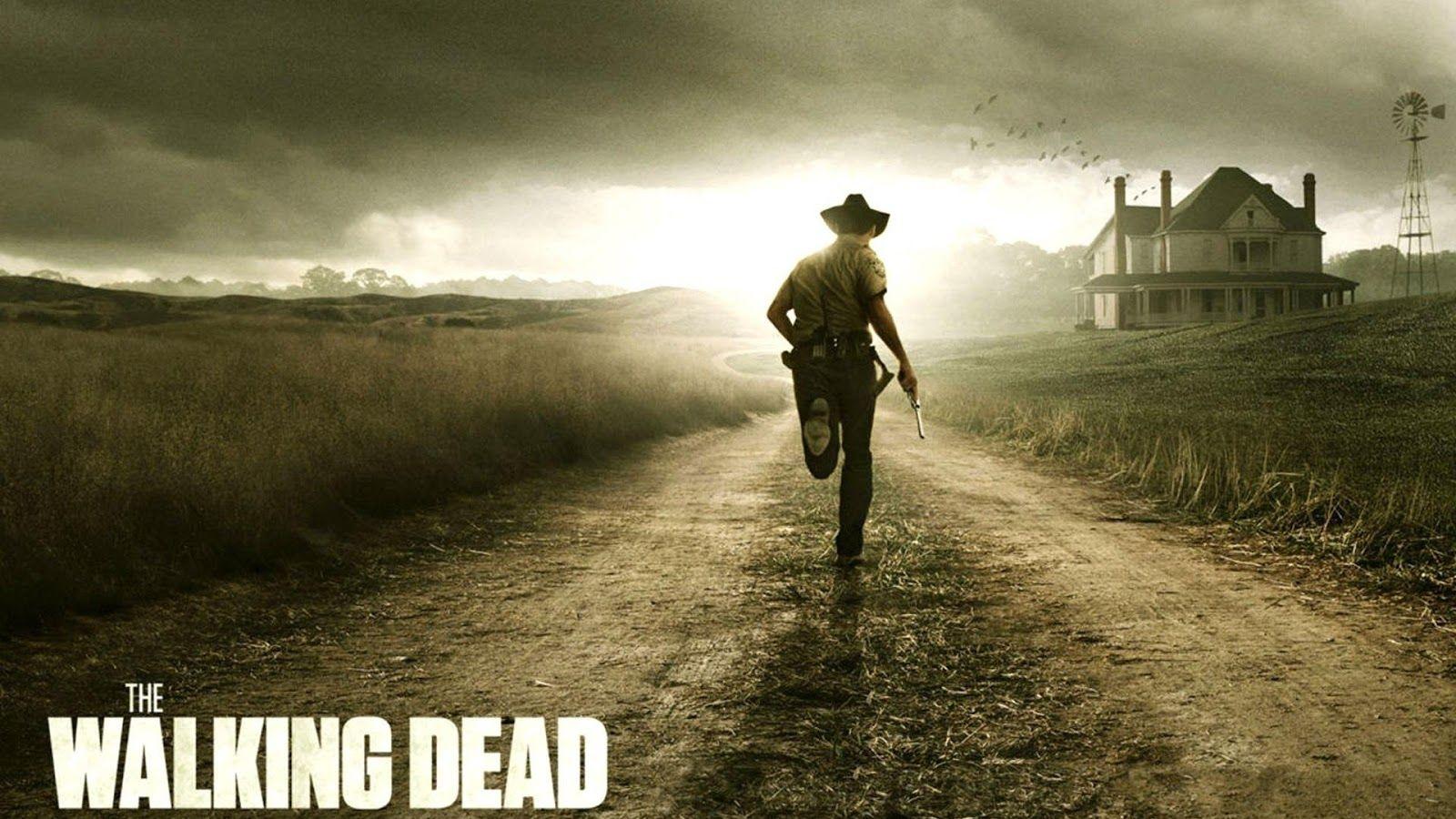 Run Rick Run The Walking Dead Poster Walking Dead Wallpaper
