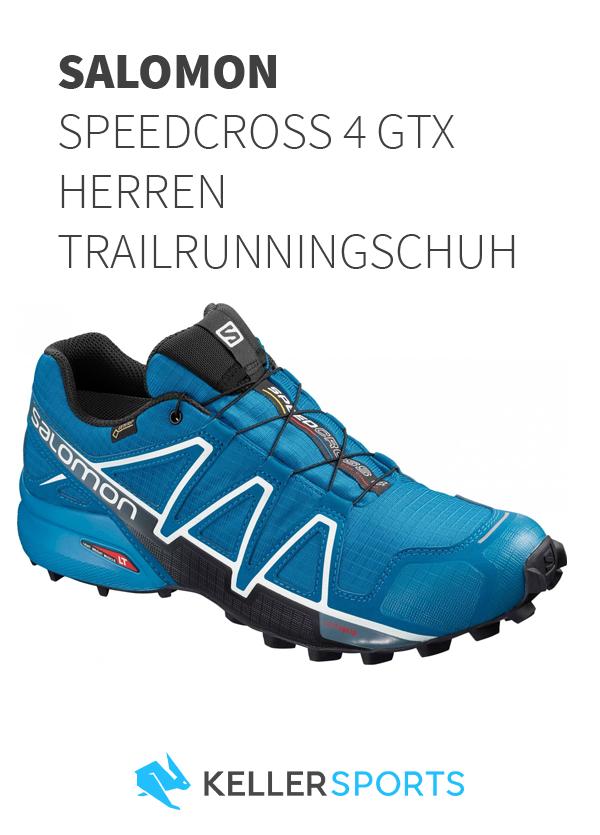 Der Salomon Speedcross 4 GTX Herren Trailrunningschuh bei HbjTP