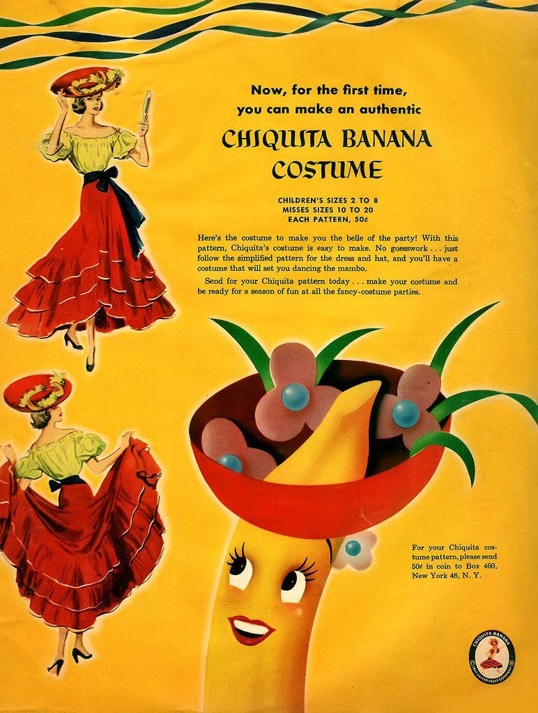 Chiquita Banana Costume