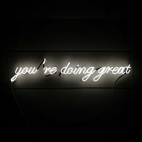 Discovered By Chloe Find Images And Videos About Tumblr Black And White On We Heart It The App To Get Lost In What Neon Signs Quotes Neon Quotes Neon Words
