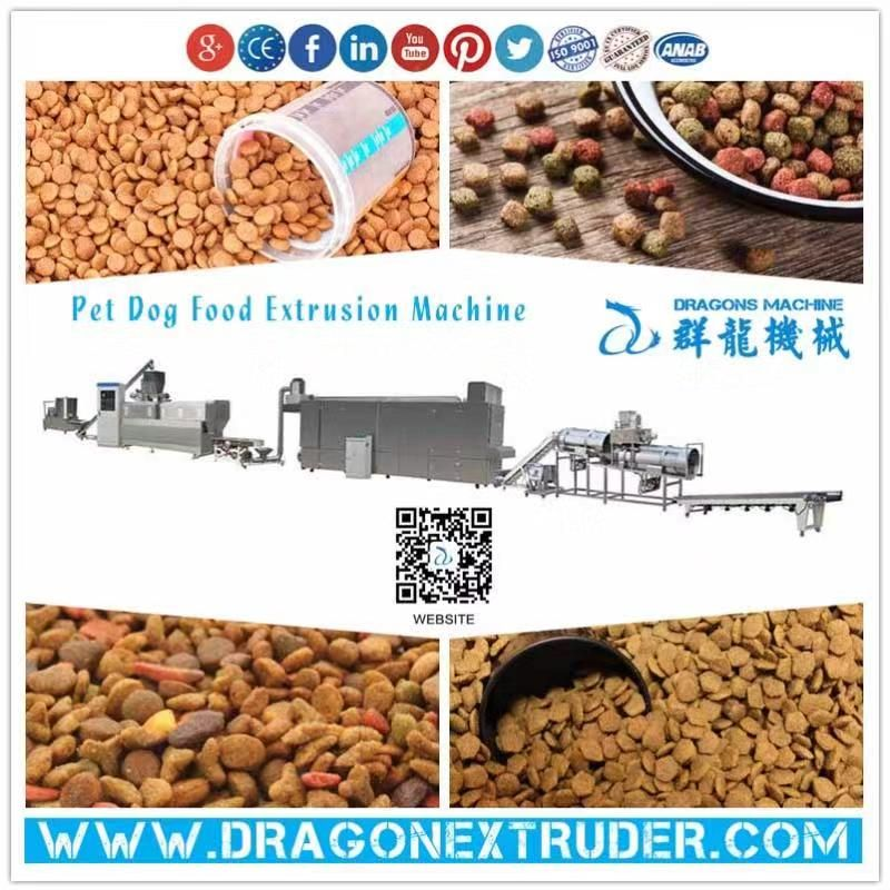 Qunlong provides a wide range of twin-screw extrusion Pet Food