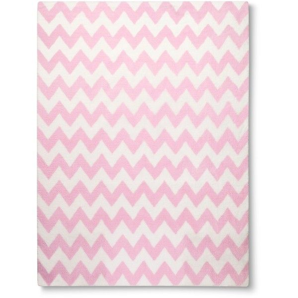 Circo Chevron Area Rug Pink 240 Ron Liked On Polyvore Featuring Home Rugs Zig Zag Zigzag And