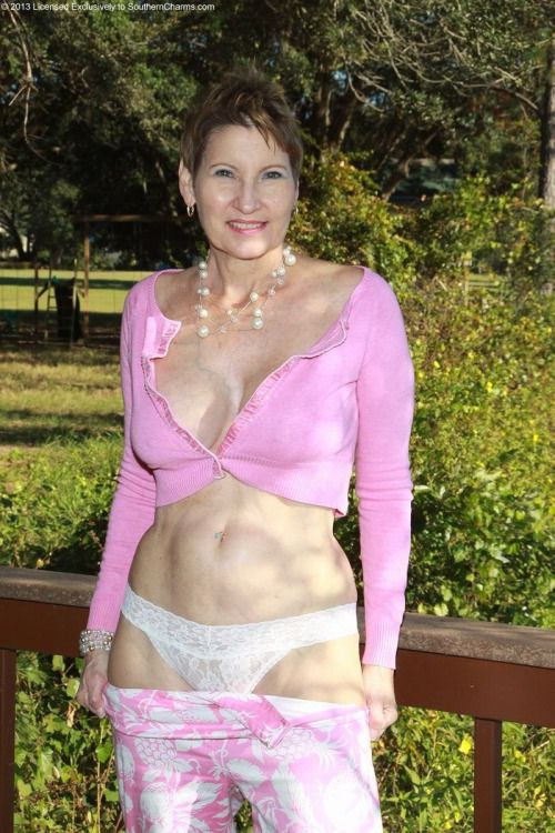 Mature women in sexy panties