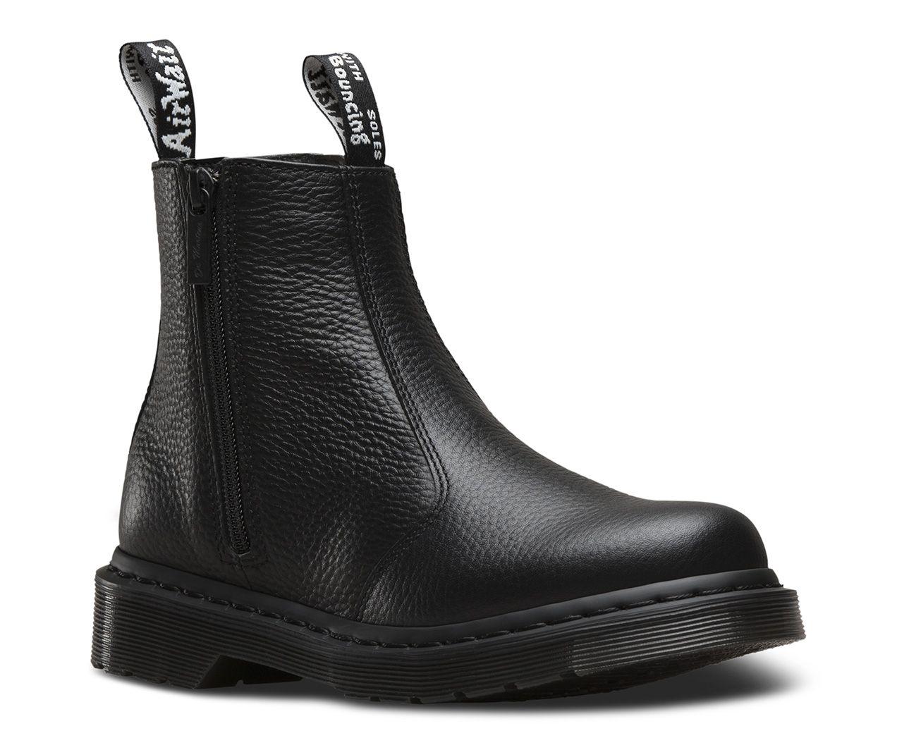 DR MARTENS 2976 W/ZIP AUNT SALLY. Women's BootsAnkle ...