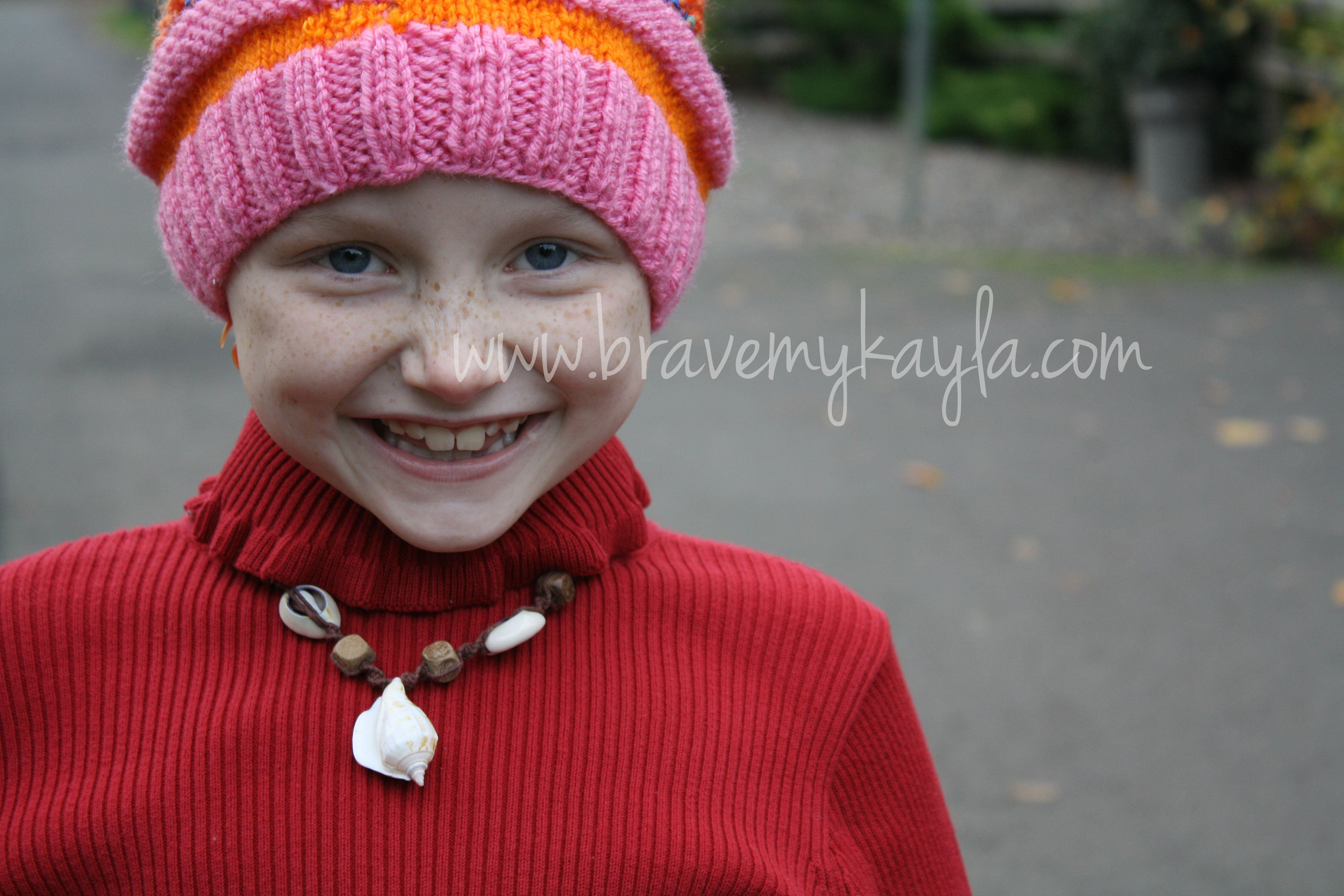 Childhood Cancer, Cannabis and Courage | Mykayla from Portland, Oregon in October of 2013